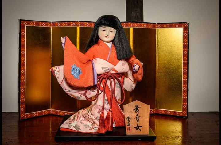 Old traditional doll for young girls