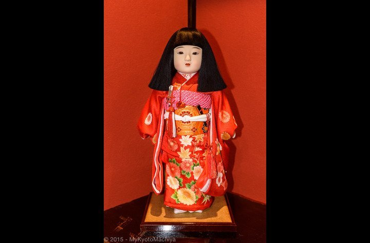 Old traditional Japanese doll