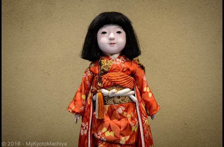 Ichimatsu ningyo doll, a traditional present for young girls