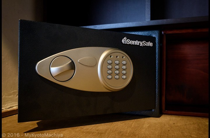 A safe is available for our guest's usage