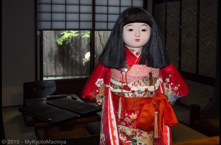 Our traditional Japanese doll
